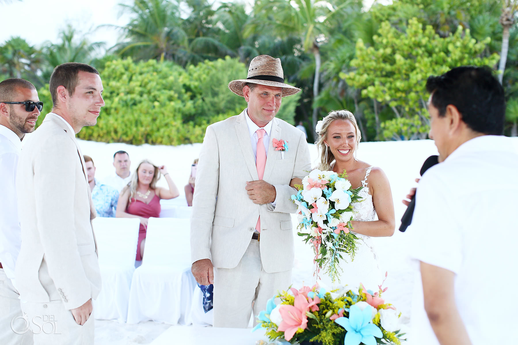 Secrets Maroma beach Wedding ceremony