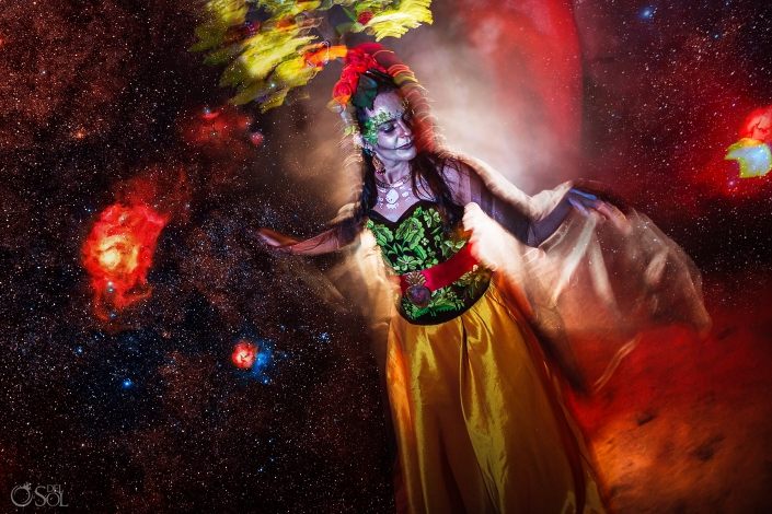 Catrina Sirena Day of the Dead Tribute to the Trees by Sol Tamargo Presented at Adobe Max 2019