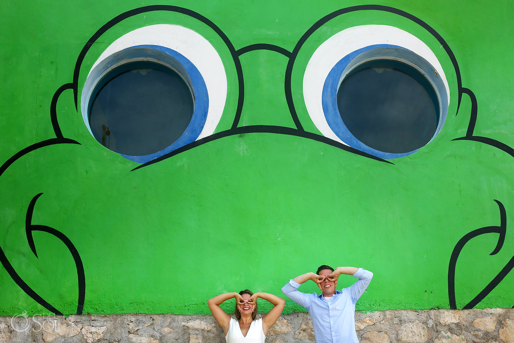 fun engagement photographer riviera maya