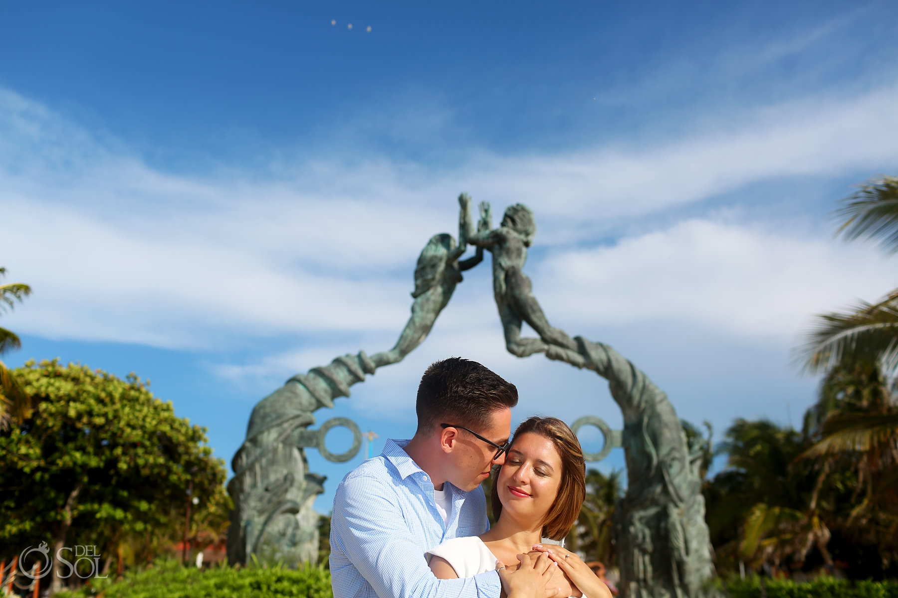 Playa del Carmen couple photographer