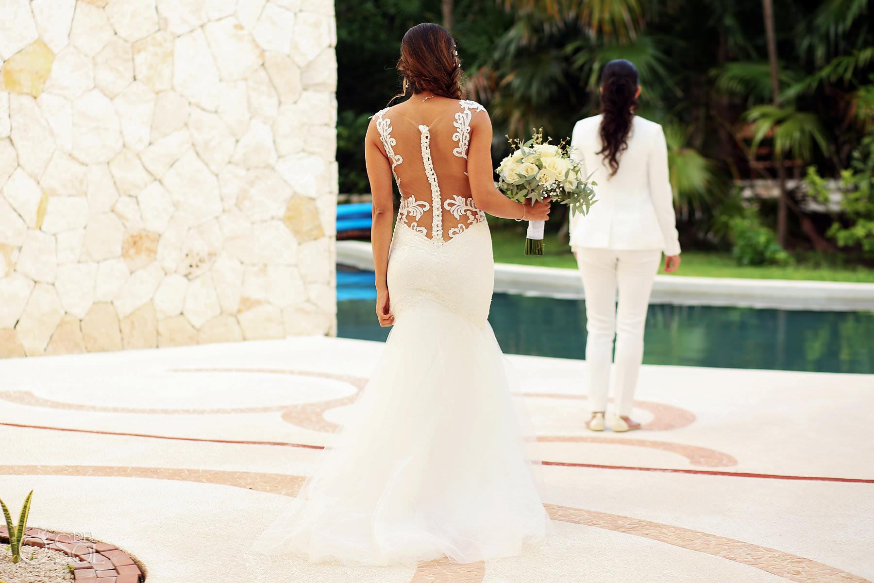 Mexico Same Sex Wedding Secrets Maroma Mellissa And Negin Del