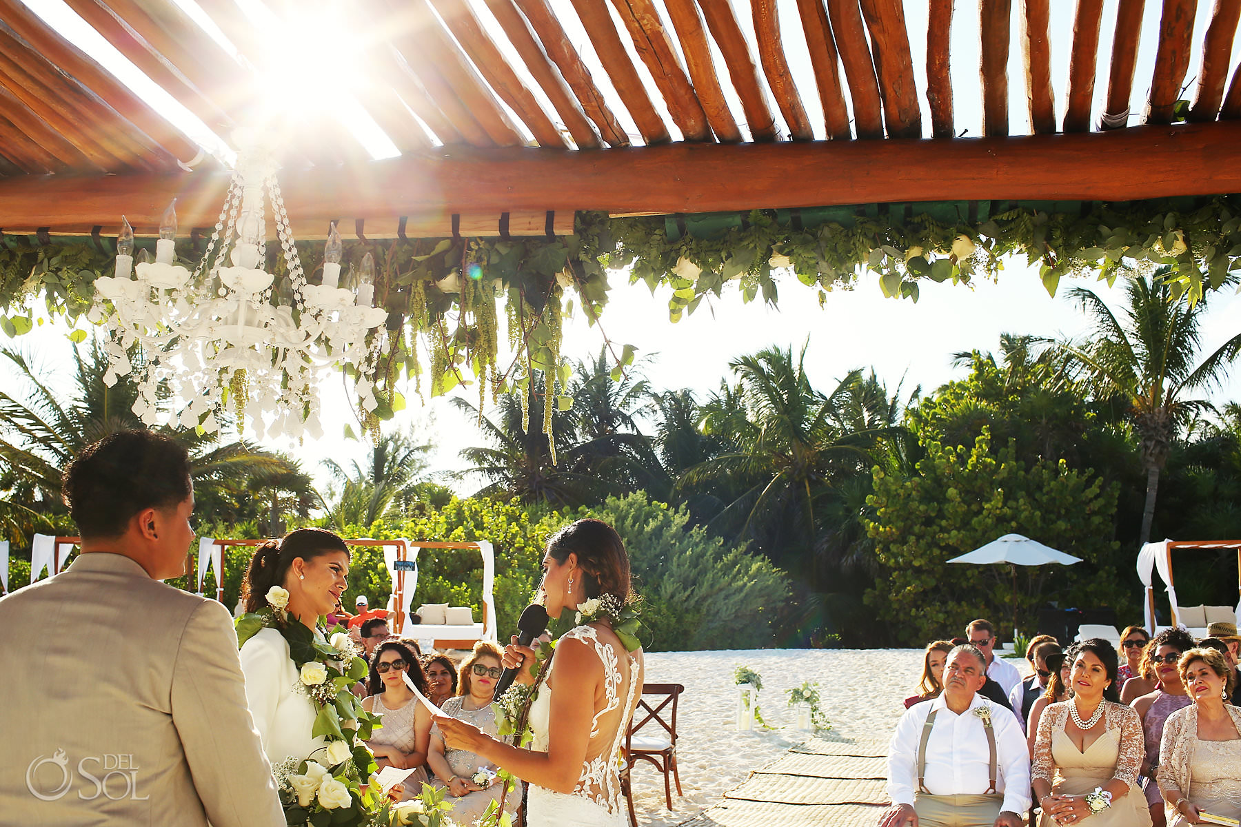 Mexico Same Sex Wedding ceremony venue at Secrets Maroma Beach