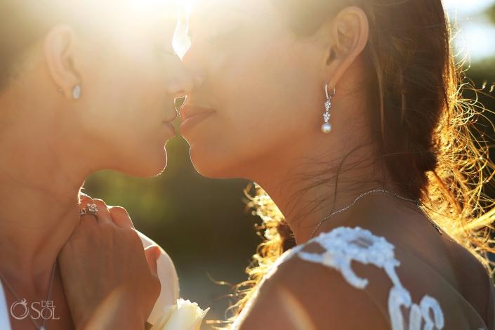 Gay Destination Beach Wedding Same Sex Secrets Maroma Brides
