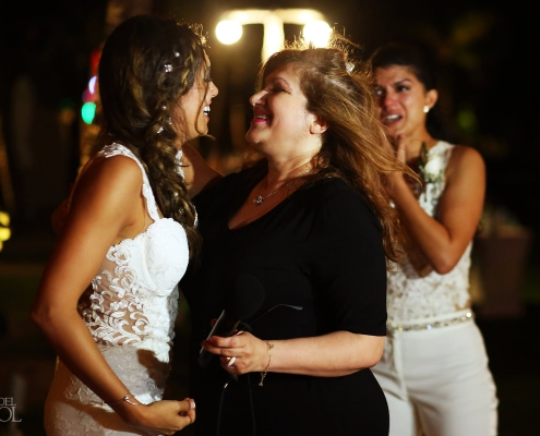 Family love and laughter Mexico Same Sex Wedding Secrets Maroma Beach Riviera Cancun