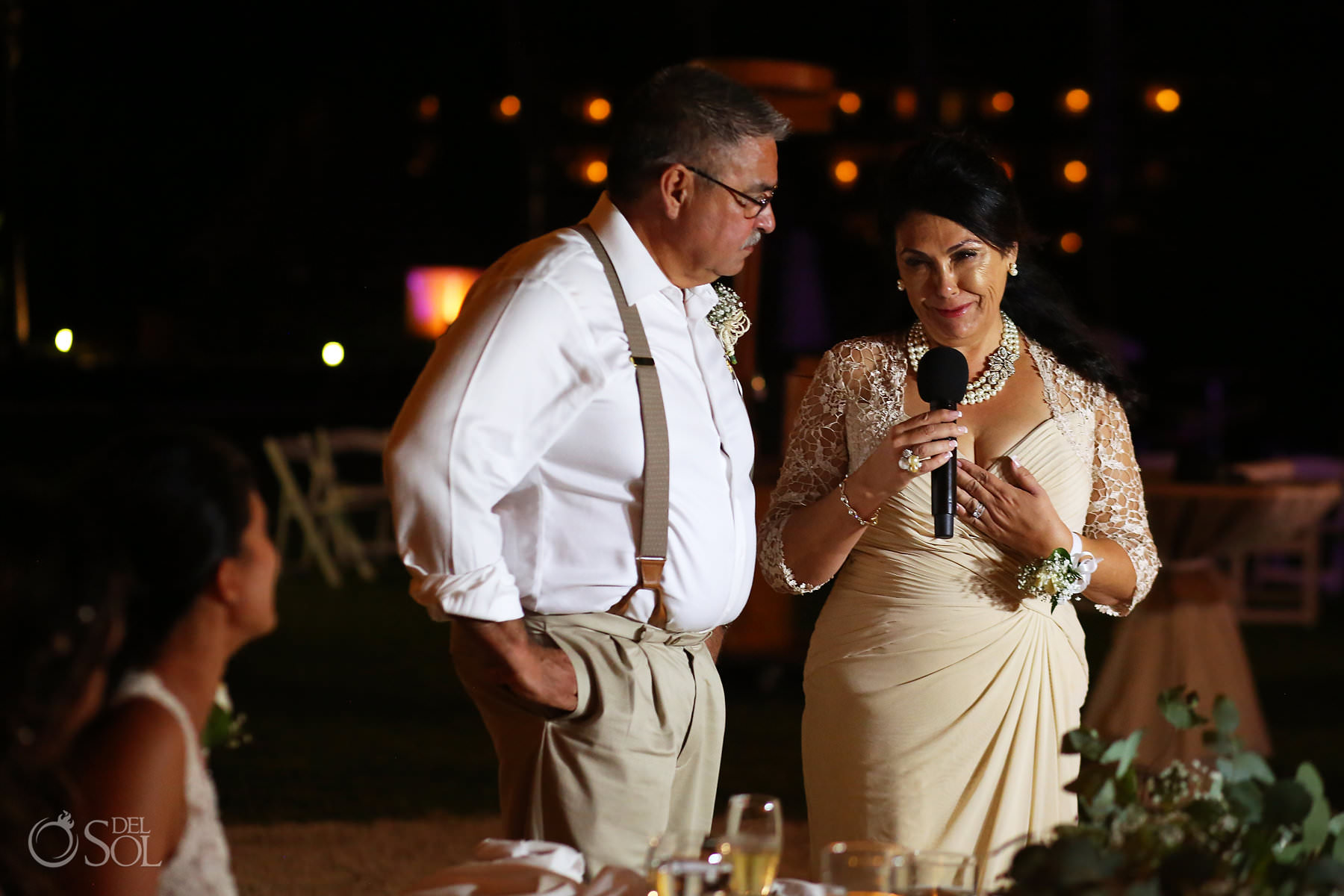 parents speeches Mexico Same Sex Wedding reception Secrets Maroma Beach Riviera Cancun