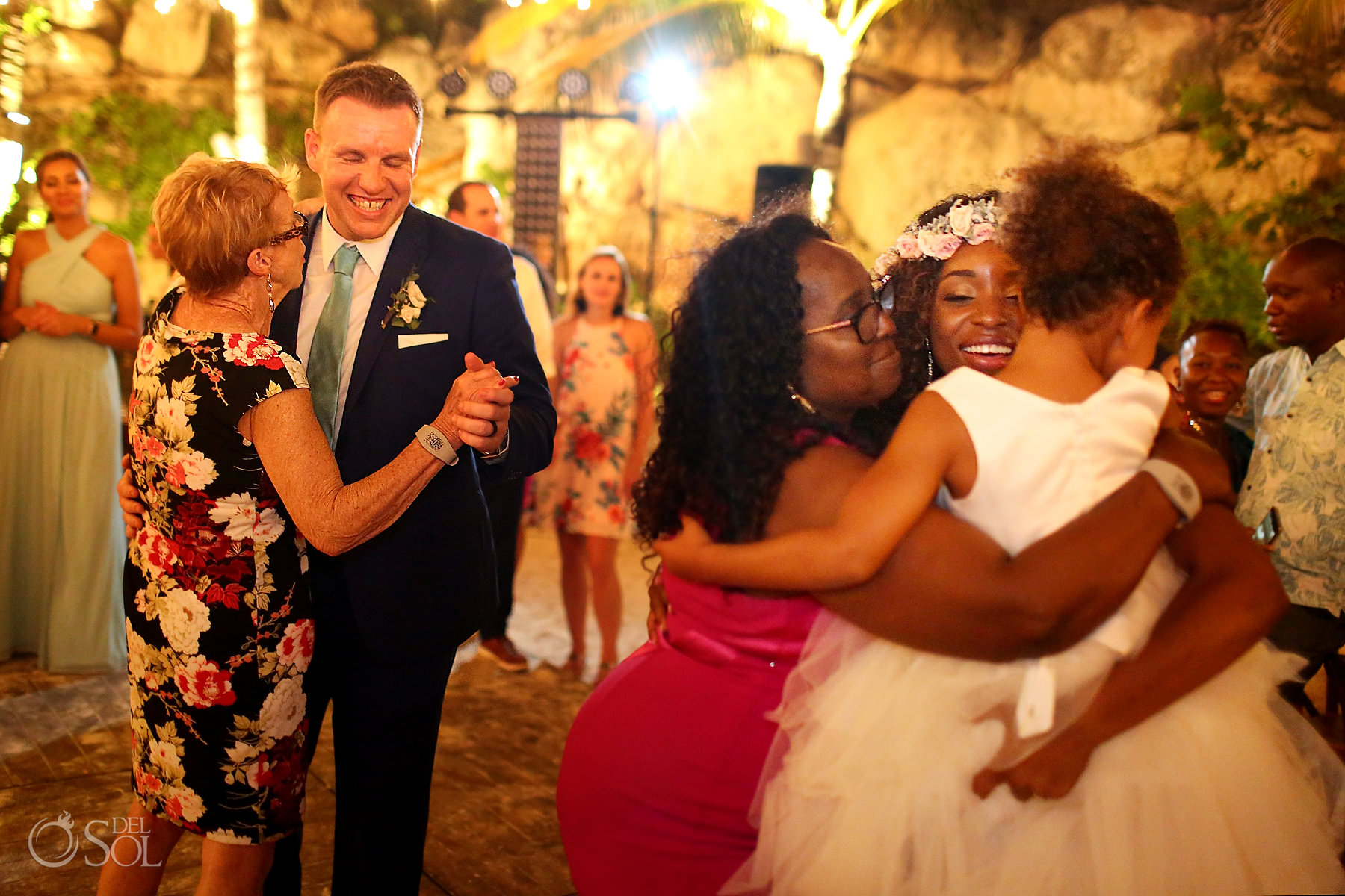 first dance with moms caleta fuego Hotel Xcaret Mexico