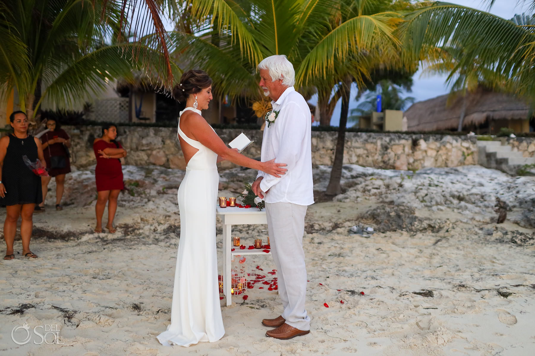 Isla Mujeres Elopement wedding Location Villa Makax