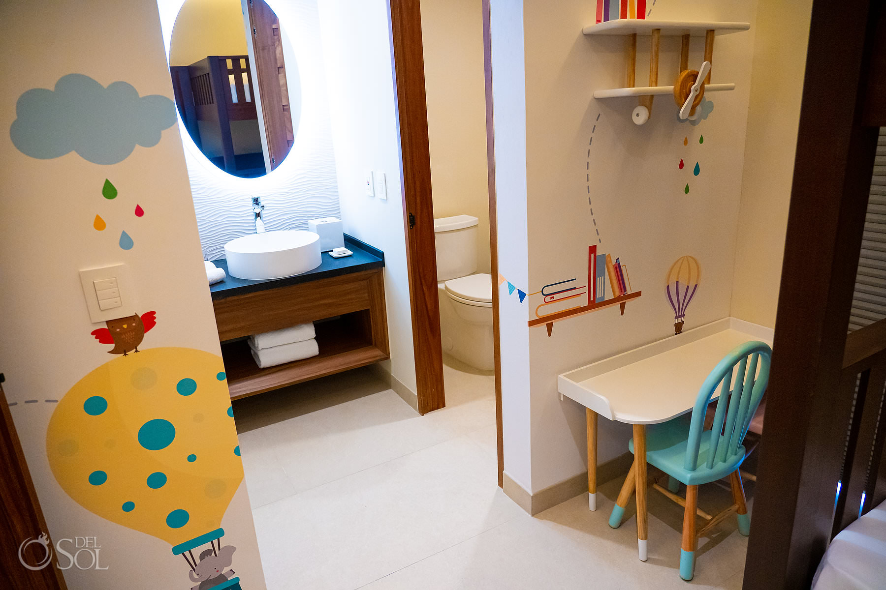 Childrens room Palmaia House of Aia family friendly all-inclusive Playa del Carmen