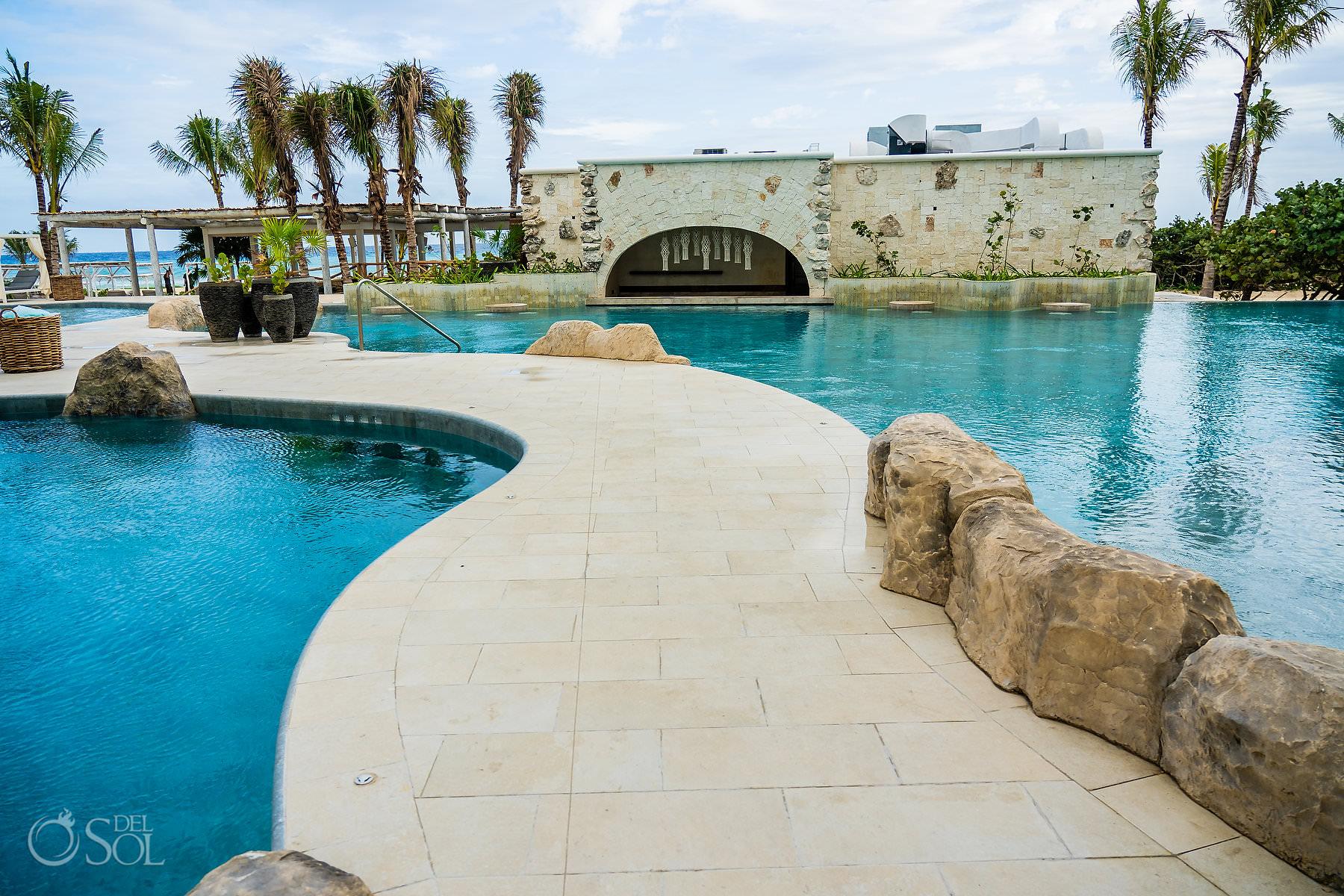 Palmaia House of Aia swim up bar Playa del Carmen