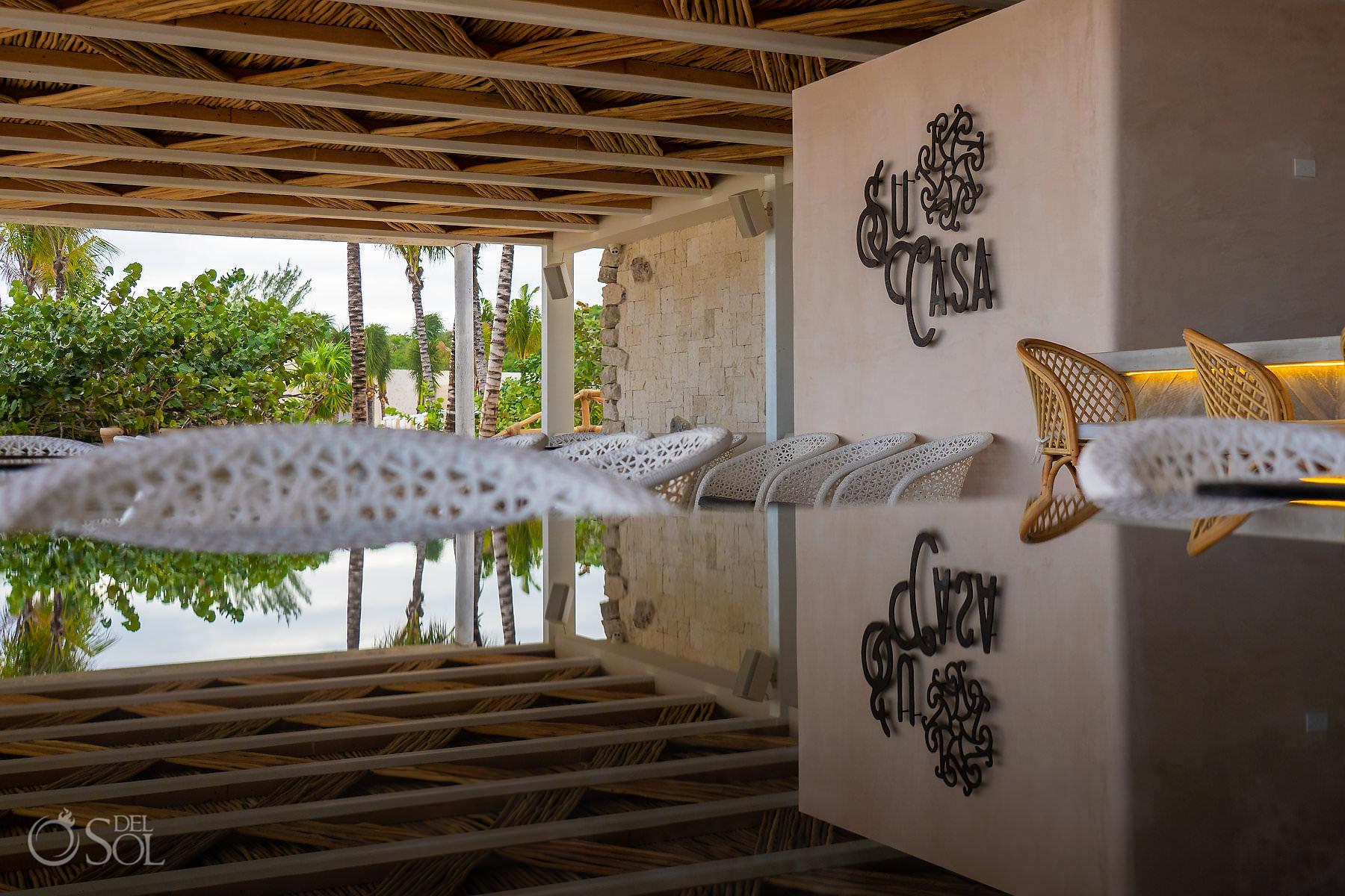 Palmaia house of Aia su casa beach restaurant Playa del Carmen