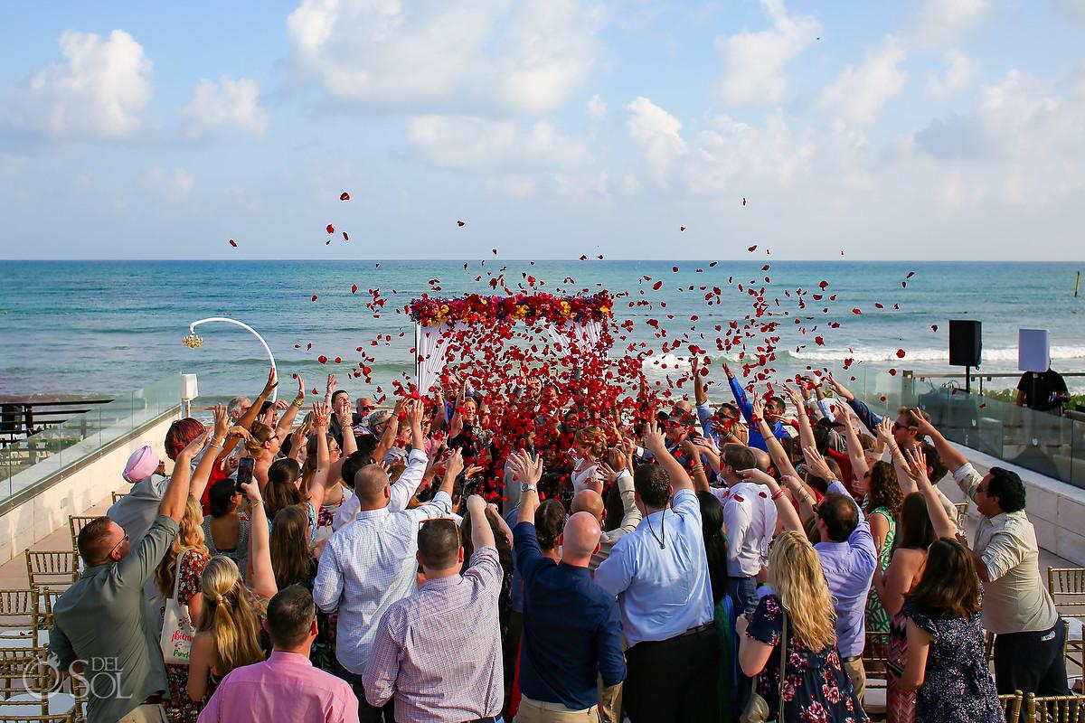 Entire wedding group photo Patio Deck Now Jade Wedding