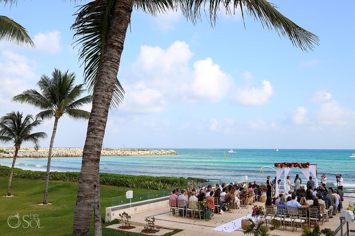 Patio Deck Now Jade Wedding Ceremony location