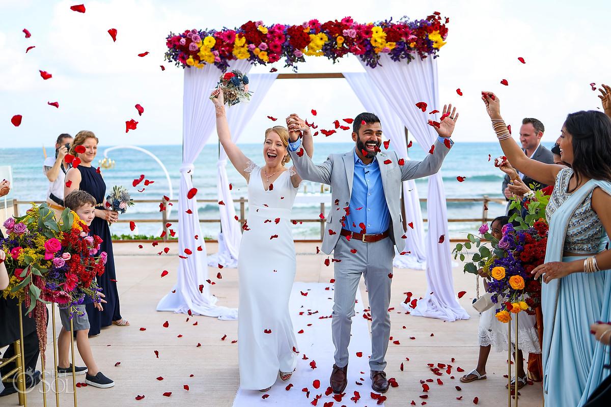 just married Patio Deck Now Jade Wedding