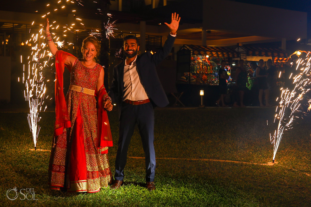 Cold fireworks Now Jade Wedding Reception Del Sol Photography