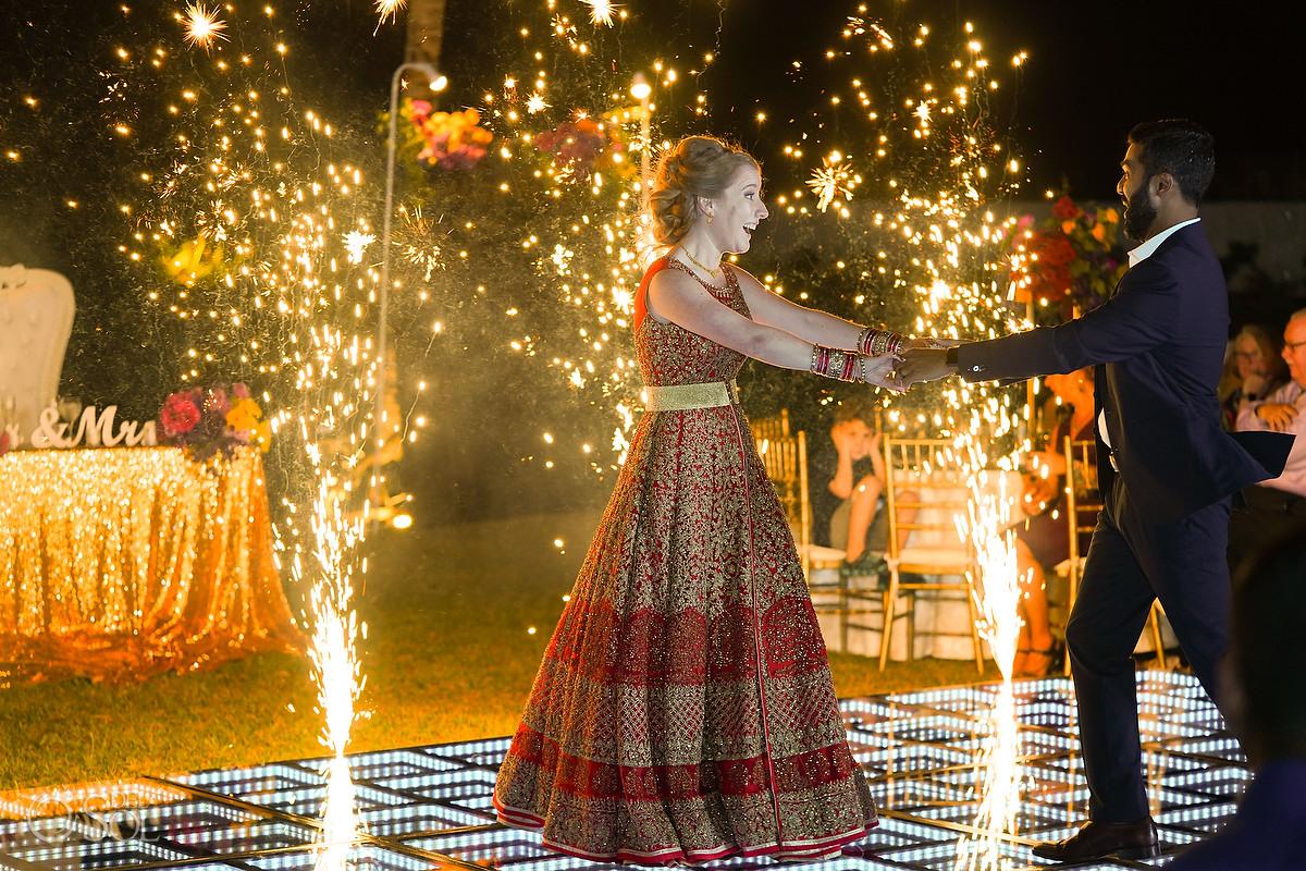 fireworks first dance now jade wedding photography