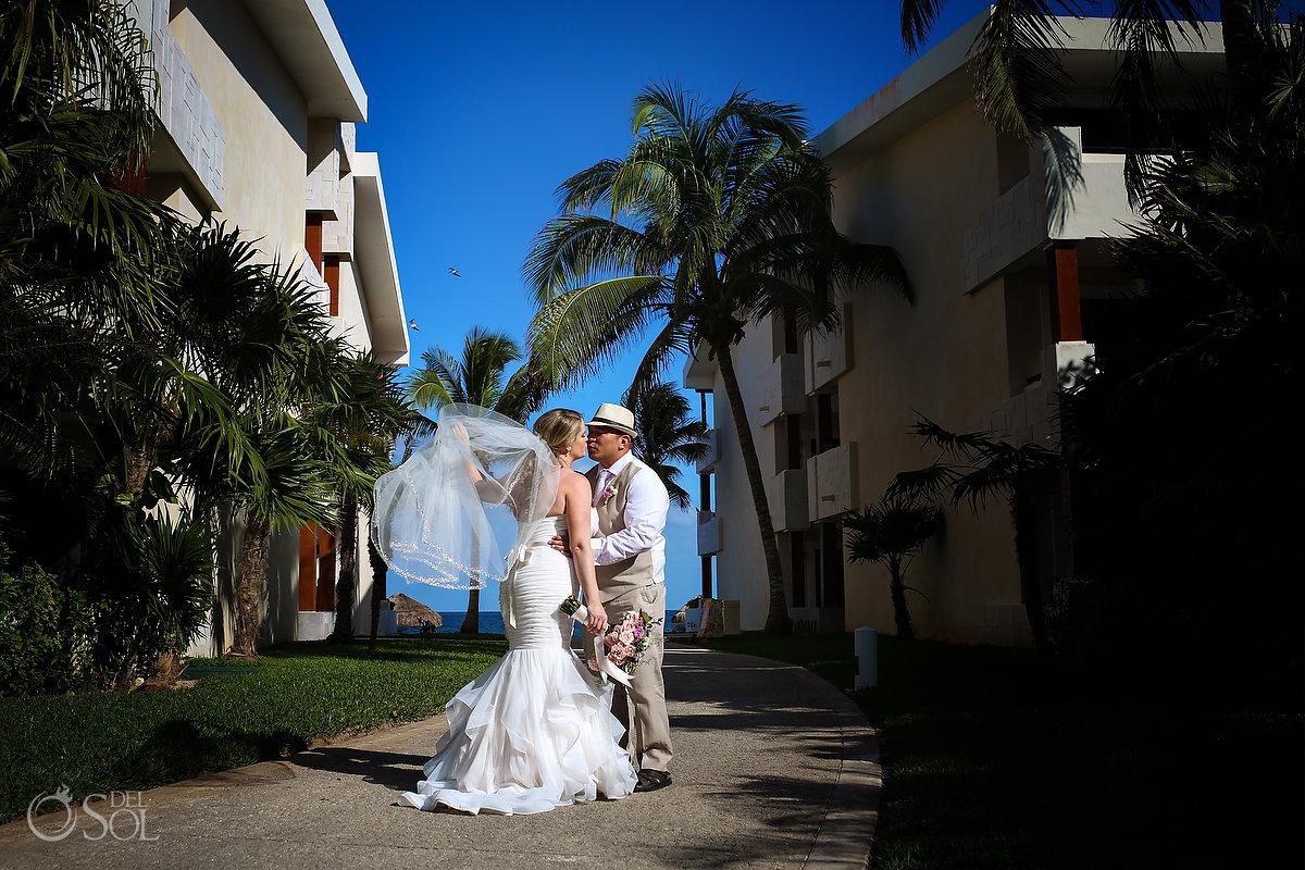 best destination wedding TA Del Sol Travels Now Sapphire wedding portrait