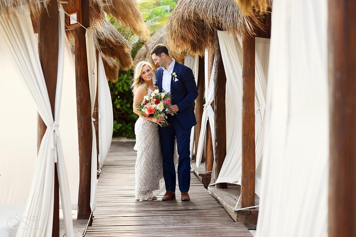 Wedding portraits Secrets Akumal Riviera Maya Mexico