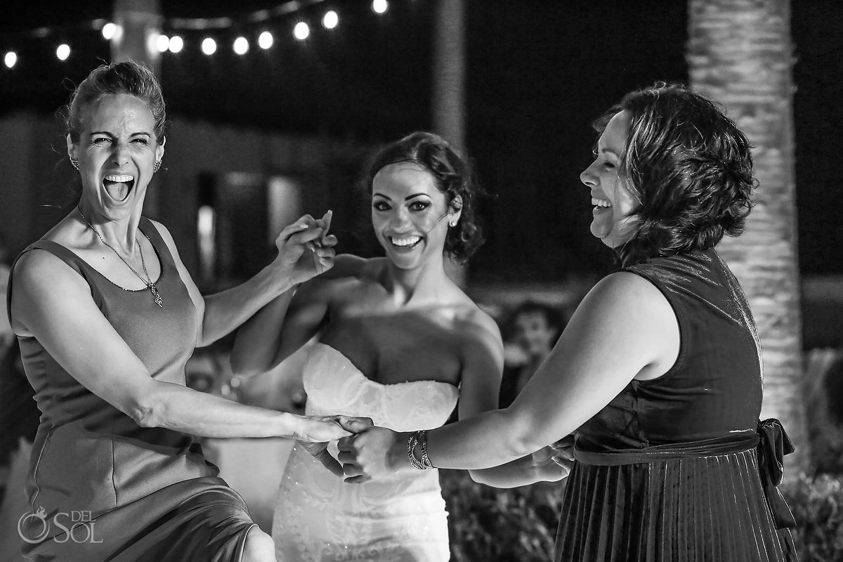 Bride first dance with mother Secrets Playa Mujeres