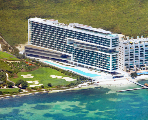 Aerial Photo Dreams Vista Cancun