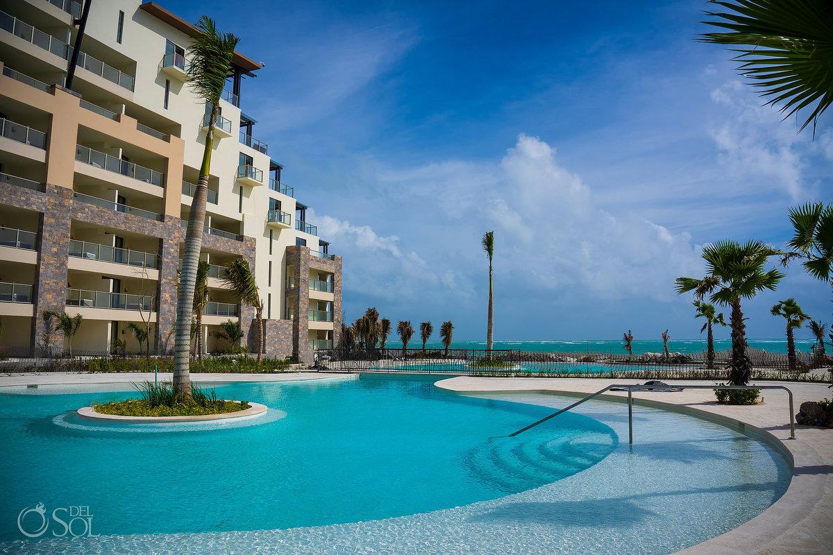 Dreams Natura Riviera Cancun poolside terrace