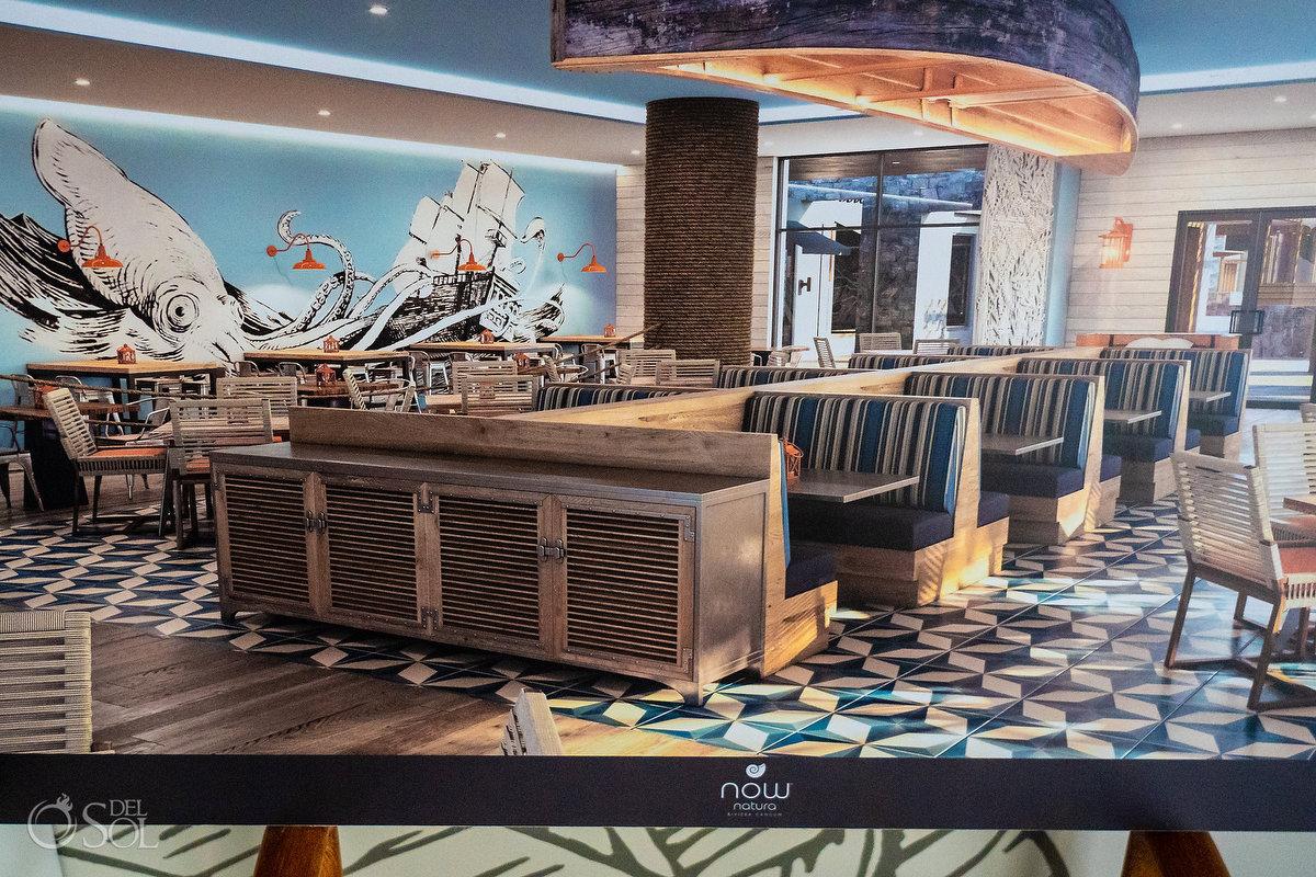 Dreams Natura Riviera Cancun restaurant concept