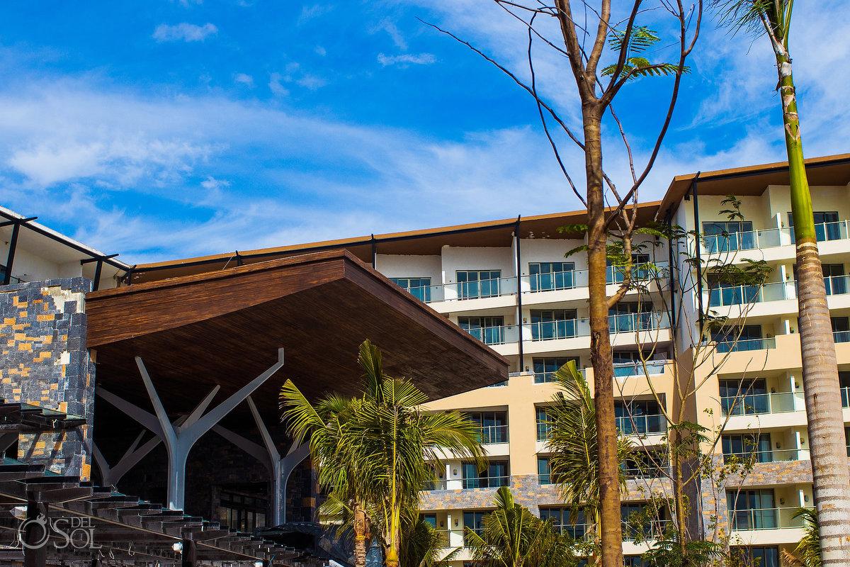 Dreams Natura weddings Riviera Cancun lobby architecture