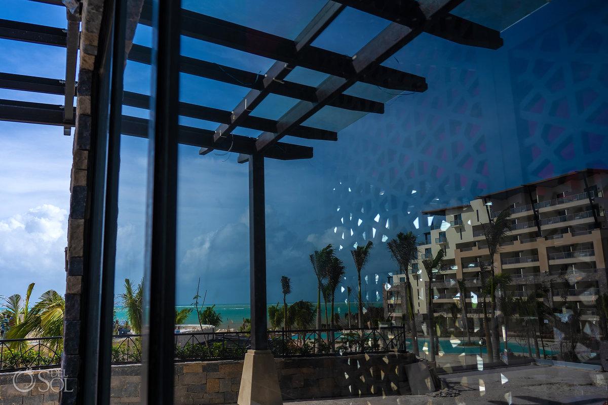 Dreams Natura Riviera Cancun contemporay architecture