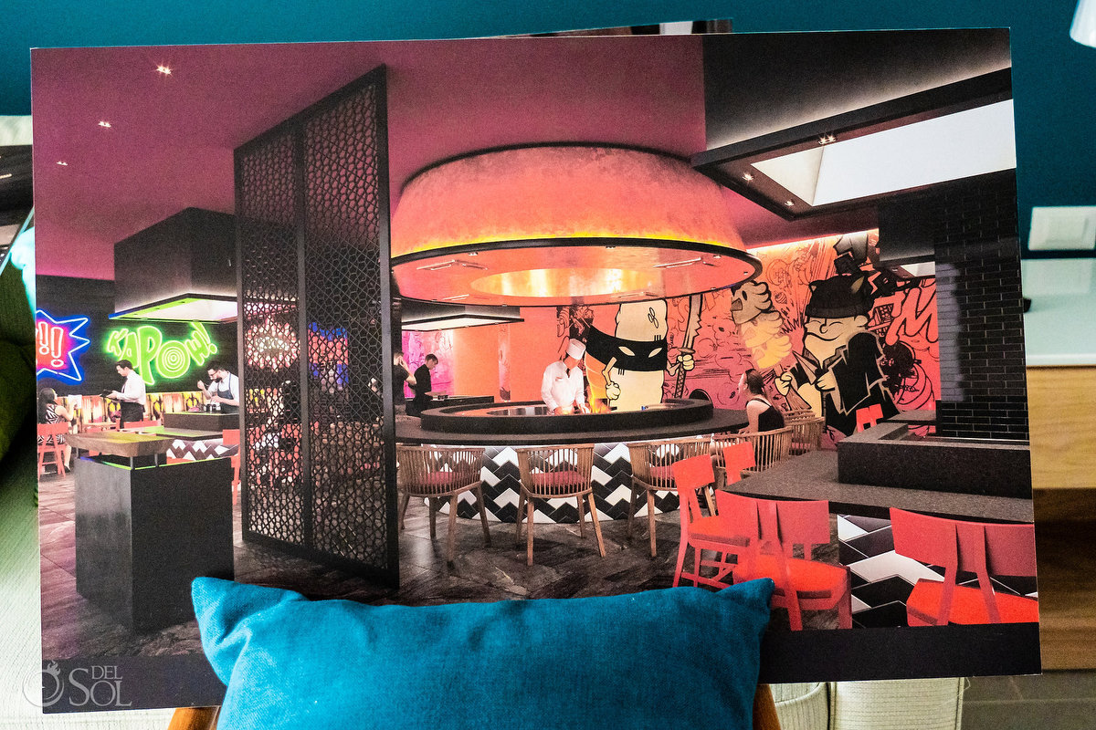 Dreams Natura Riviera Cancun restaurant