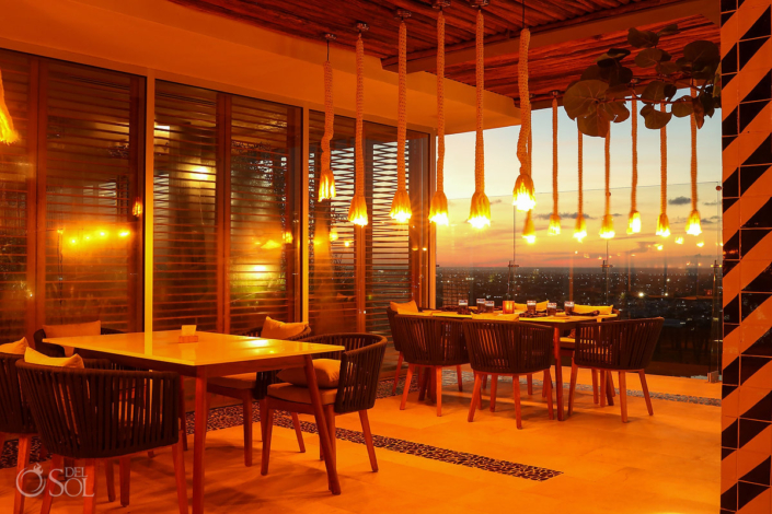 Dreams Vista Bluewater Grill Rooftop Restaurant
