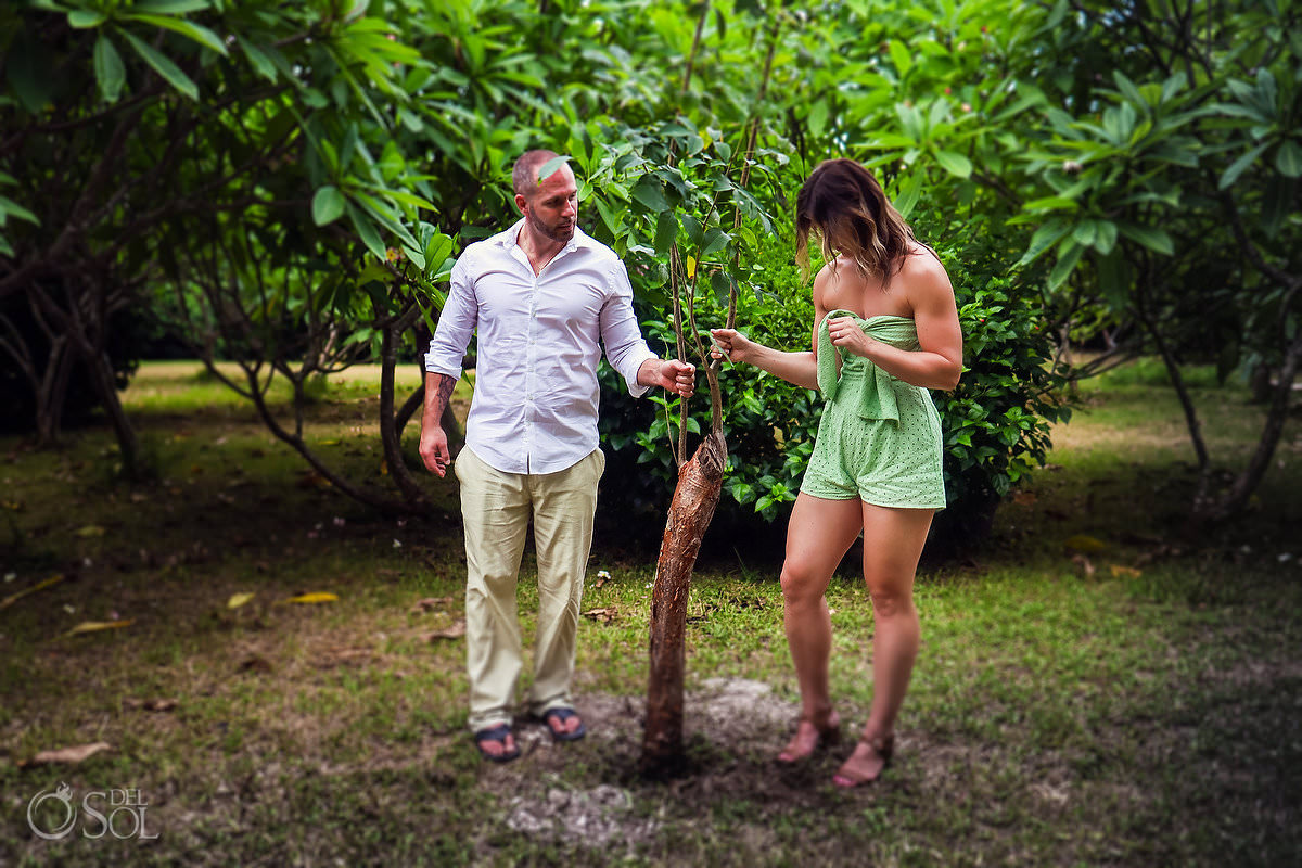 Roots To The Dreams Tulum engagement photography experience #travelforlove