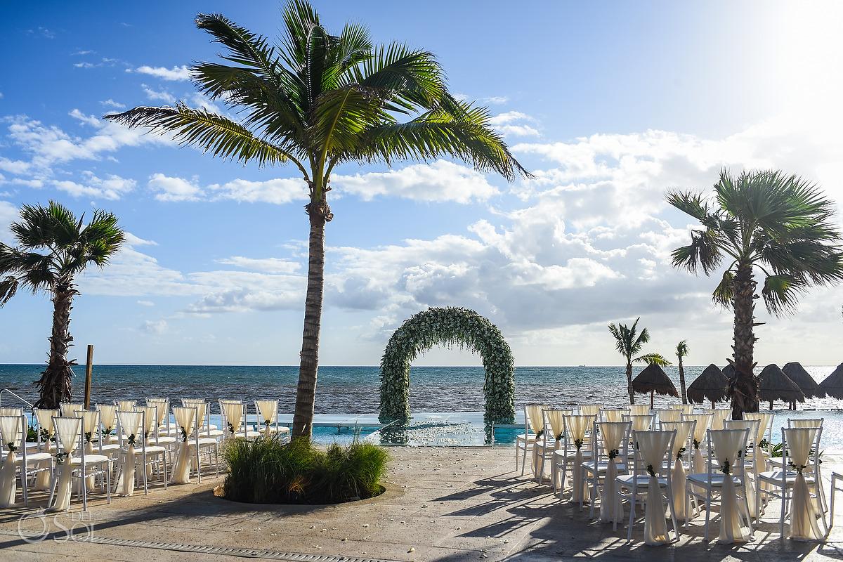Dreams Natura Wedding Riviera Cancun Mexico
