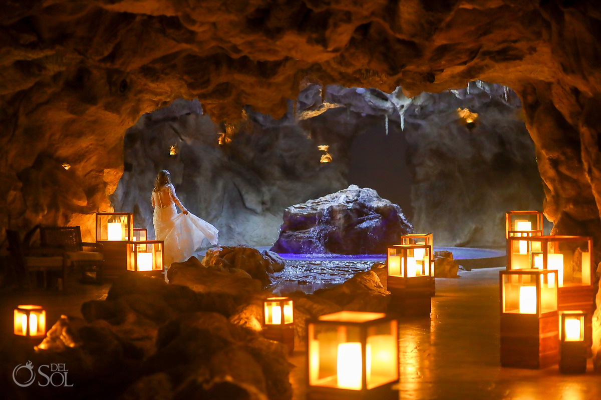 Dreams Natura Spa best bridal wedding portrait location Riviera Cancun Mexico