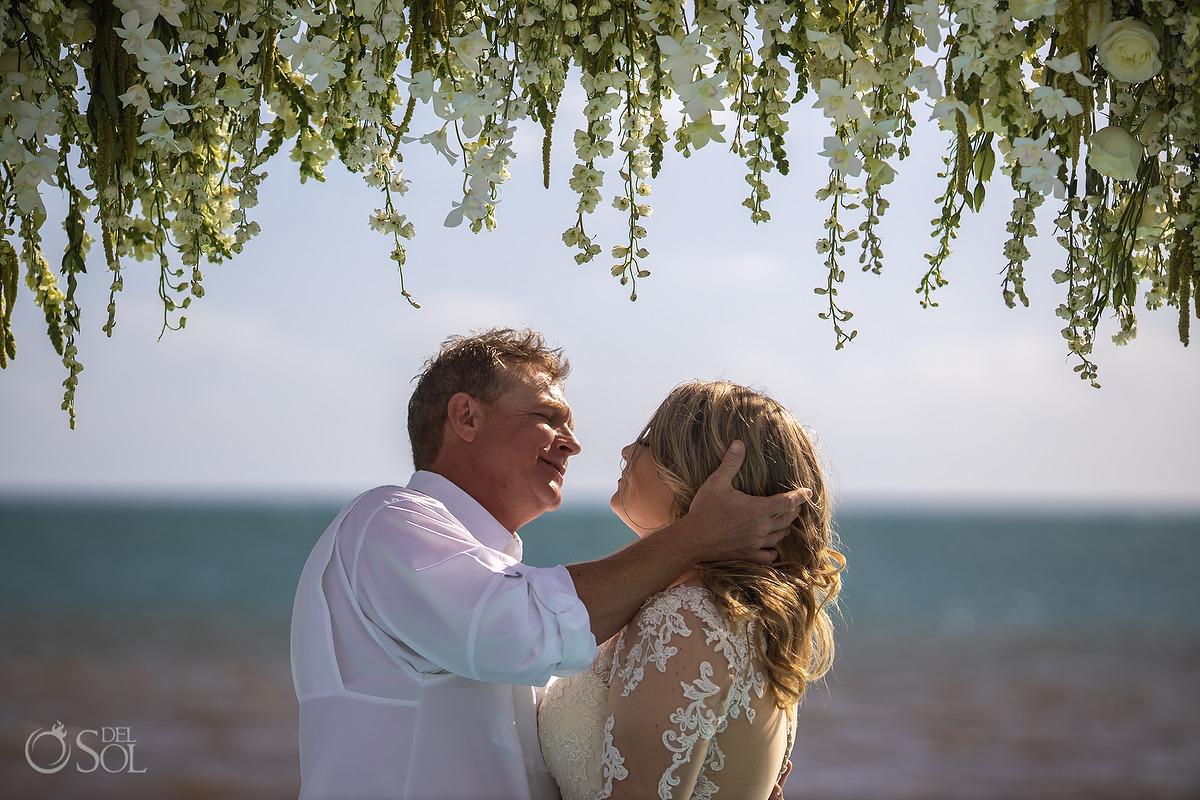 Dreams Natura Wedding portraits Riviera Cancun Mexico