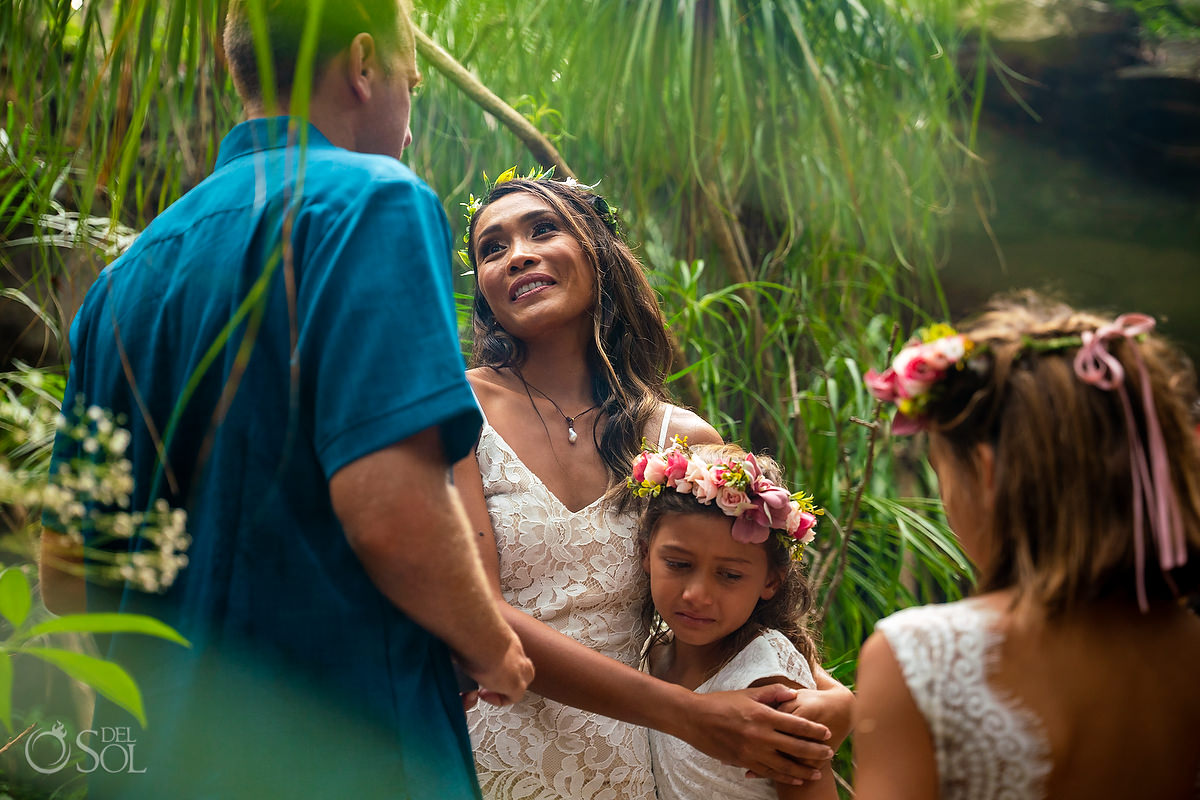 Show your children your family love with a Mayan Vow renewal in Mexico
