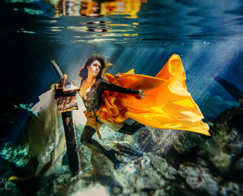 Healing Art Underwater Photography Riviera Maya Mexico #TravelForLove