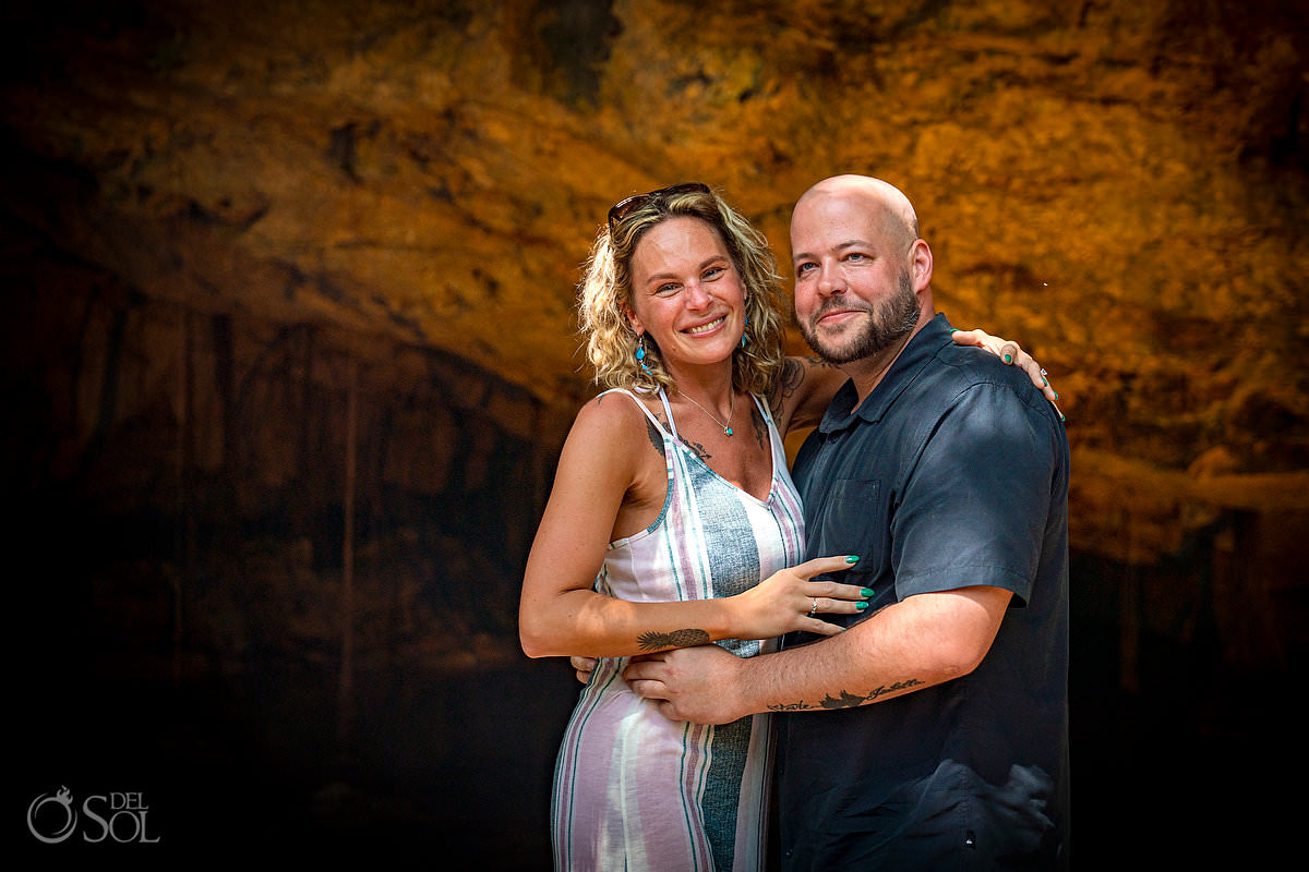 She Said YES just engaged Mexico destination proposal