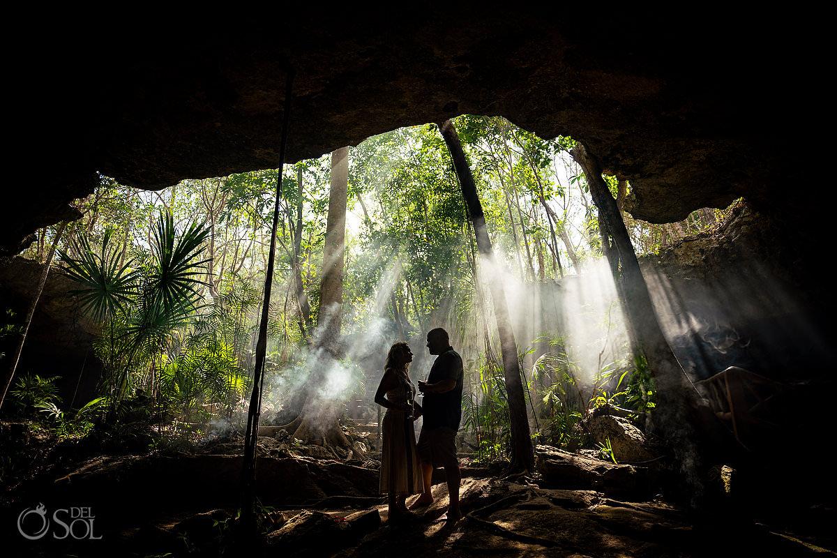 fairytale proposal Ideas Tulum Riviera Maya Mexico