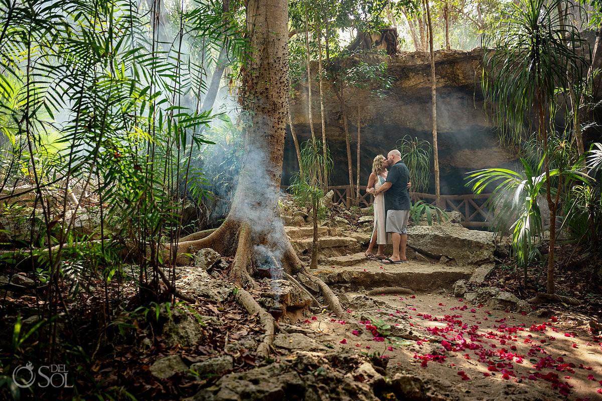 best wedding proposal locations Tulum Riviera Maya Mexico