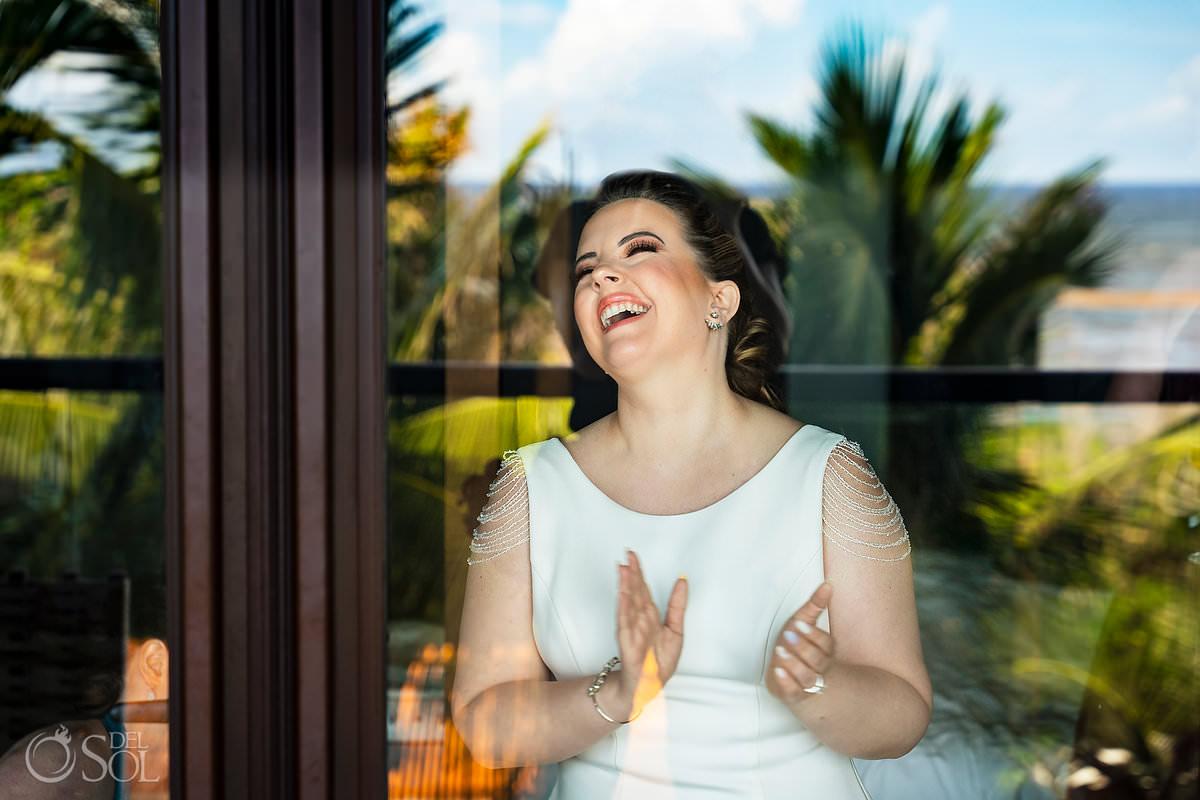 unico wedding photographer creative bride portrait