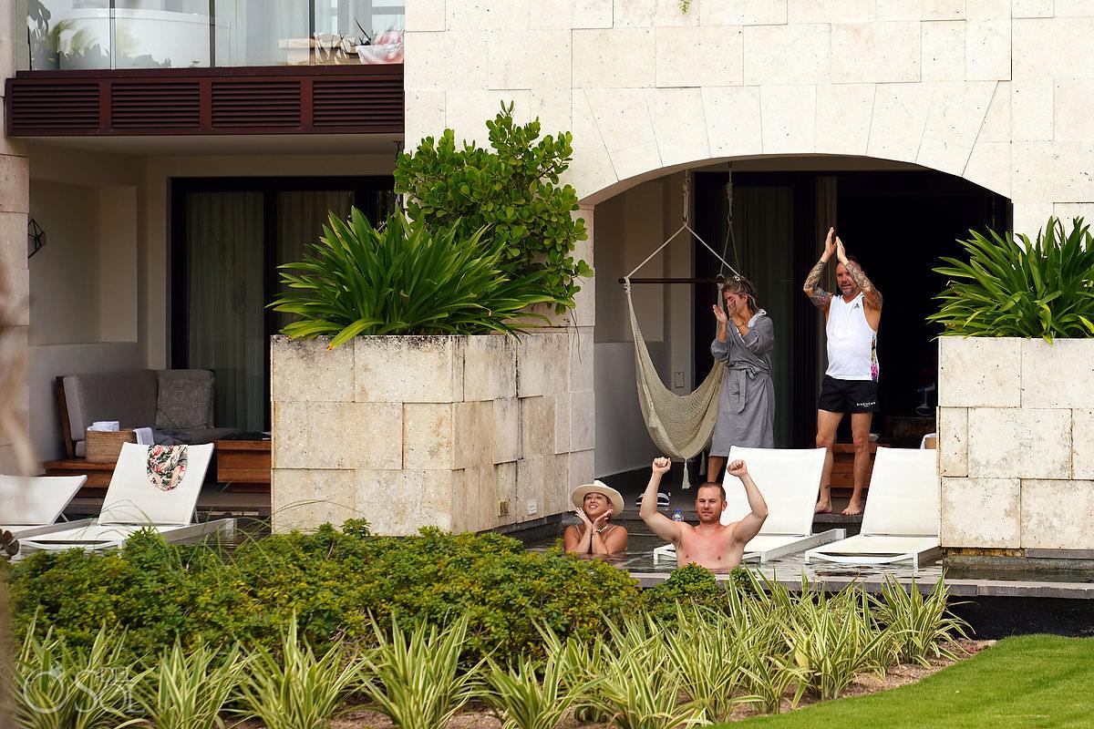 Unico Riviera Maya Swim up suite