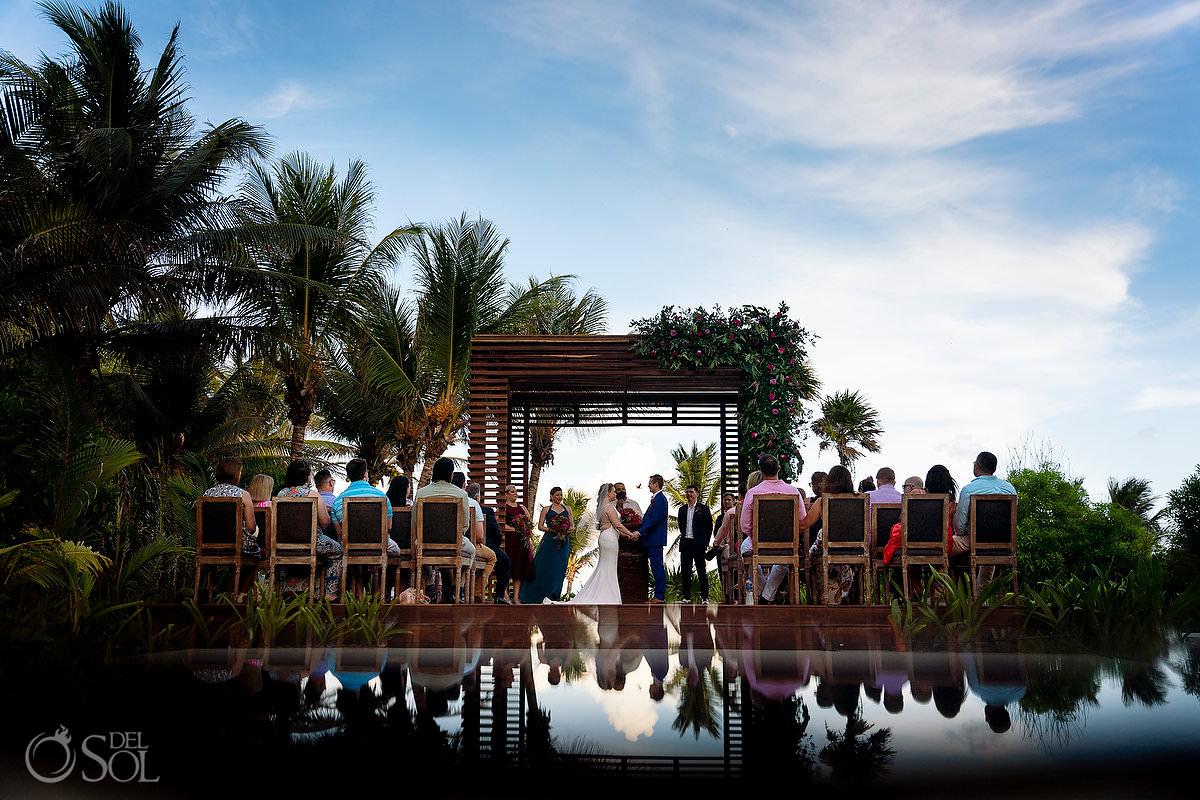 Unico Riviera Maya Wedding Photography gazebo ceremony