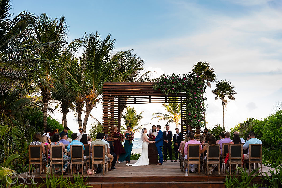 Unico Riviera Maya Wedding Gazebo