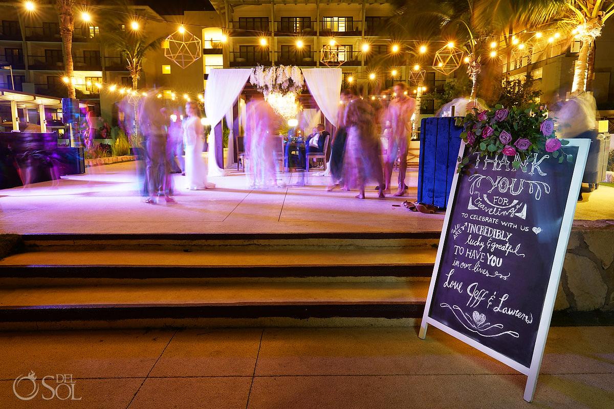 Unico Riviera Maya Wedding Reception Costerra Terrace