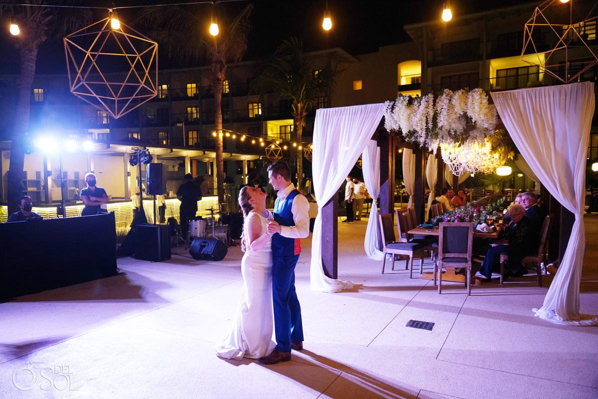 Unico Riviera Maya Wedding Reception Costerra Terrace Mexico